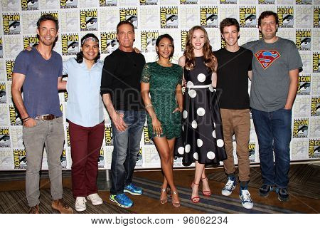 SAN DIEGO, CA - JULY 11: The cast of