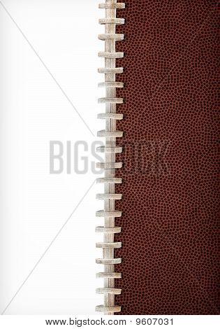 Fußball-Schnürsenkel-Hintergrund
