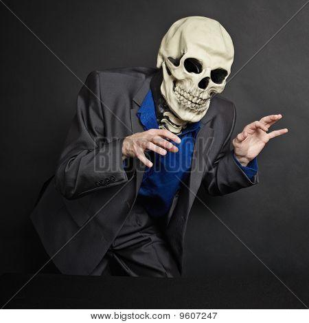 Terrifying Person In Skeleton Mask Stolen