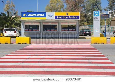 Ferry Tickets Office
