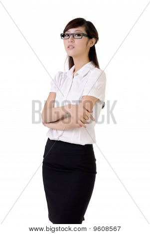 Proud Business Woman