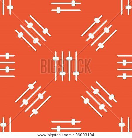 Orange faders pattern