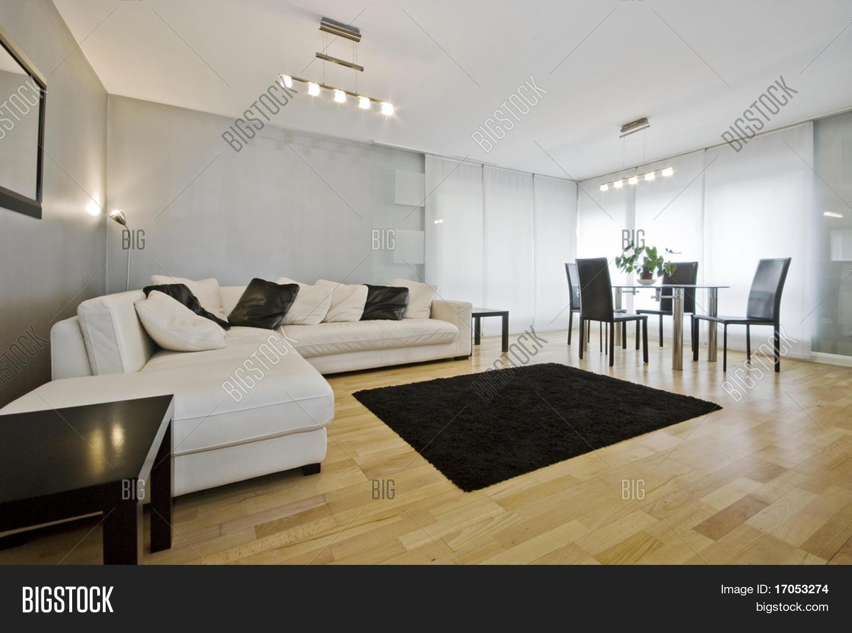 Moderne Luxe Woonkamer Met Afbeelding en foto | Bigstock