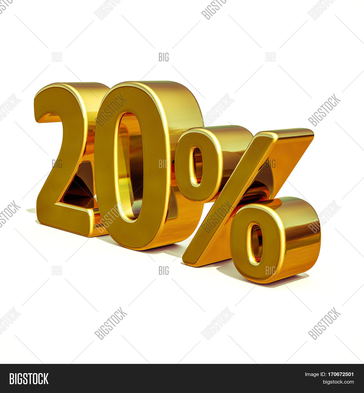 Gold Sale 20 Gold Image Photo Free Trial Bigstock