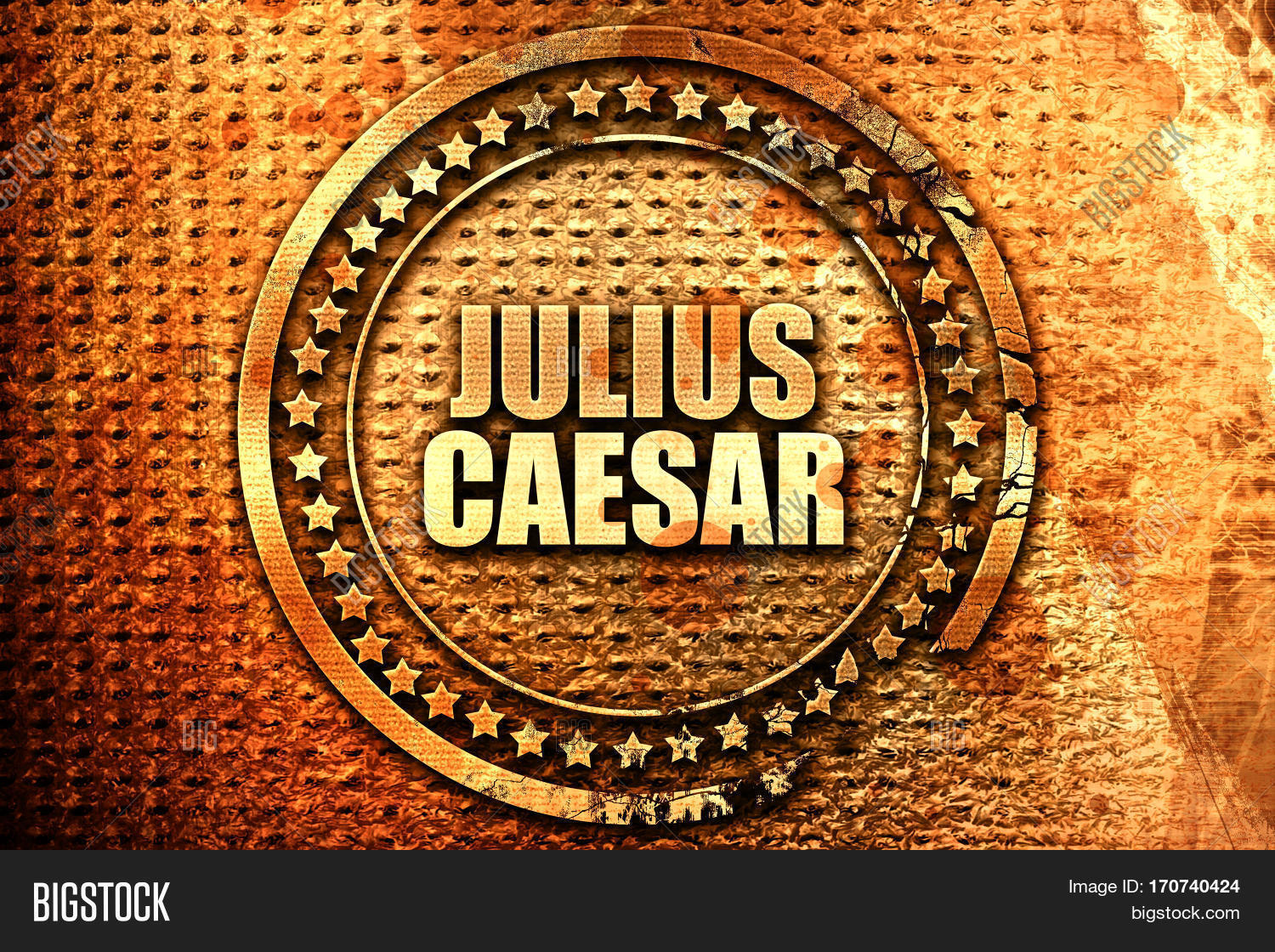 Julius Caesar 3d Image Photo Free Trial Bigstock
