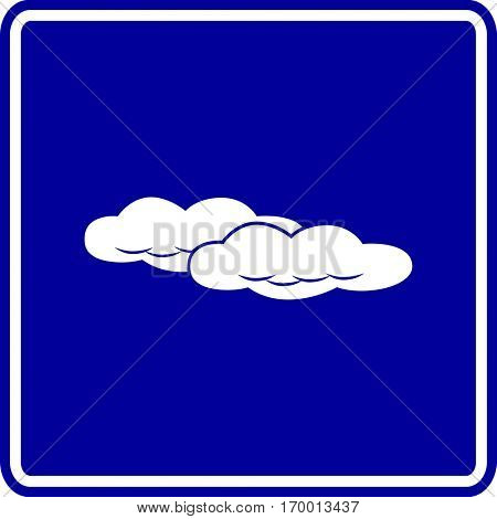 clouds sign
