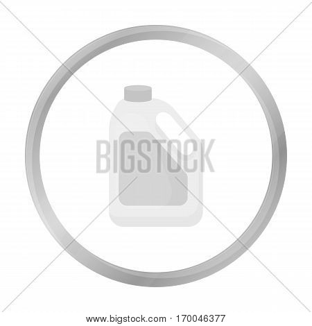 Bottle milk icon monochrome. Single bio, eco, organic product icon from the big milk monochrome.