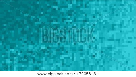 Abstract Square Pixel Mosaic Background Set.