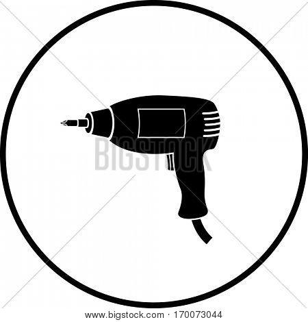 electric screwdriver symbol