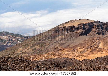 Teide volcano. Island of Tenerife landscape. Spain.