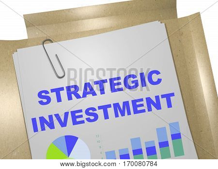 Strategic Investment - Business Concept