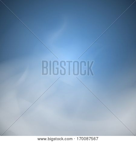 Soft Blue Cloud And Smoke  Backgrounds Abstract  Unusual Illustration