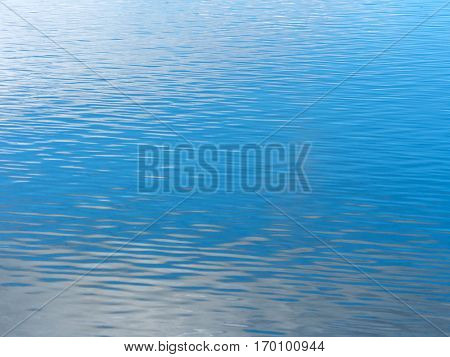 water surface of a lake