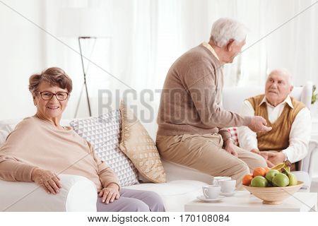 Talks In Common Room