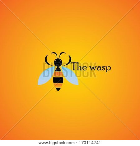 wasp ideas design vector illustration on background