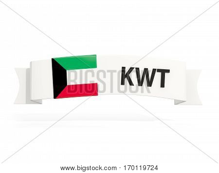 Flag Of Kuwait On Banner
