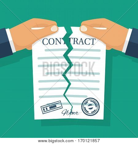 Terminated Contract Vector