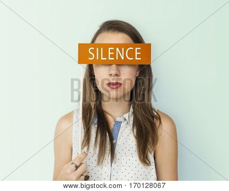 Silence Peace Tranquility Word Concept
