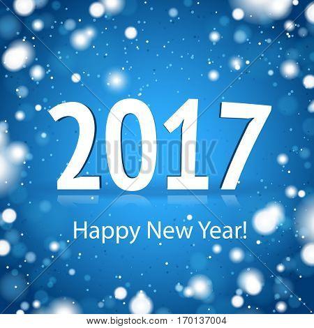 2017 Happy New Year Card
