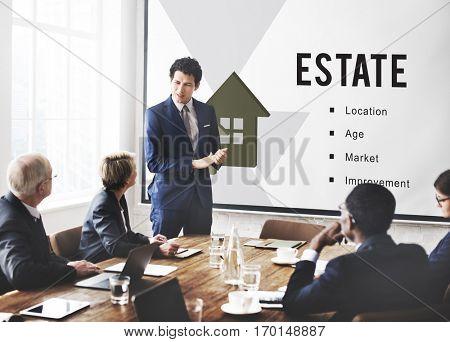 Real Estate Mortgage Loan Concept