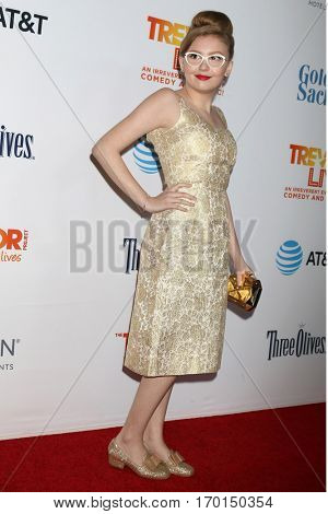 LOS ANGELES - DEC 4:  Bebe Wood at the TrevorLIVE Los Angeles 2016 at Beverly Hilton Hotel on December 4, 2016 in Beverly Hills, CA