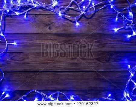 Festoon with space for greetings