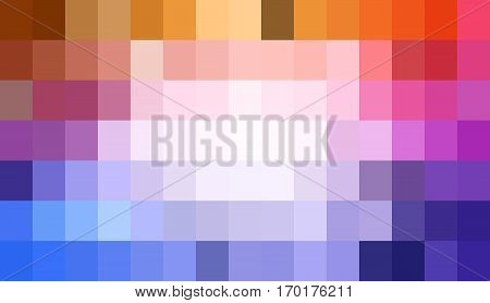 Pixelate Abstract Color Background. Vector Stock.