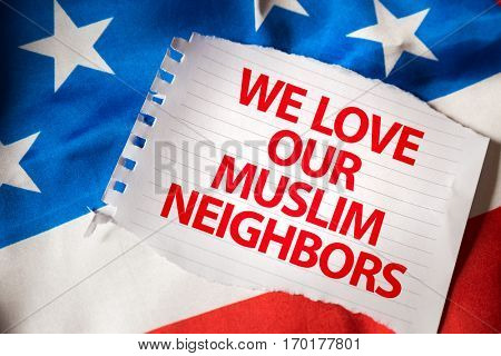 We Love Our Muslim Neighbors