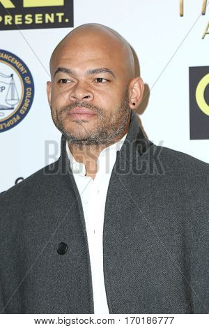 LOS ANGELES - JAN 28:  Anthony Hemmingway at the 48th NAACP Image Awards Nominees' Luncheon at Loews Hollywood Hotel on January 28, 2017 in Los Angeles, CA
