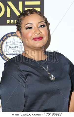 LOS ANGELES - JAN 28:  Candace Coles at the 48th NAACP Image Awards Nominees' Luncheon at Loews Hollywood Hotel on January 28, 2017 in Los Angeles, CA