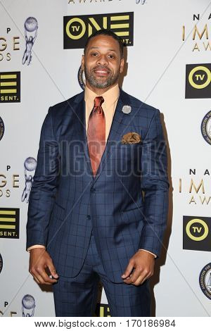 LOS ANGELES - JAN 28:  Carl Seaton at the 48th NAACP Image Awards Nominees' Luncheon at Loews Hollywood Hotel on January 28, 2017 in Los Angeles, CA