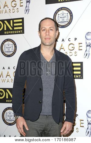 LOS ANGELES - JAN 28:  Adam Mansbach at the 48th NAACP Image Awards Nominees' Luncheon at Loews Hollywood Hotel on January 28, 2017 in Los Angeles, CA