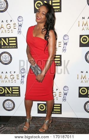 LOS ANGELES - JAN 28:  Tiffany Haddish at the 48th NAACP Image Awards Nominees' Luncheon at Loews Hollywood Hotel on January 28, 2017 in Los Angeles, CA