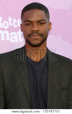LOS ANGELES - JAN 28:  Jovan Adepo at the Variety's Celebratory Brunch Event For Awards Nominees at  Cecconi's on January 28, 2017 in West Hollywood, CA