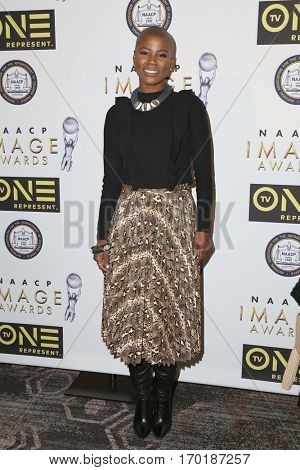 LOS ANGELES - JAN 28:  V. Bozeman at the 48th NAACP Image Awards Nominees' Luncheon at Loews Hollywood Hotel on January 28, 2017 in Los Angeles, CA