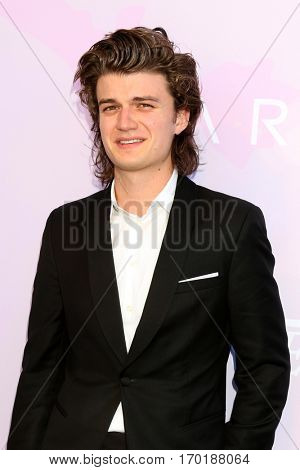 LOS ANGELES - JAN 28:  Joe Keery at the Variety's Celebratory Brunch Event For Awards Nominees at  Cecconi's on January 28, 2017 in West Hollywood, CA