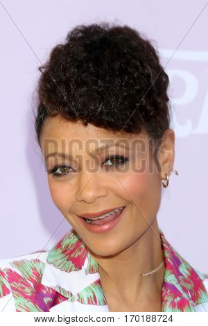 LOS ANGELES - JAN 28:  Thandie Newton at the Variety's Celebratory Brunch Event For Awards Nominees at  Cecconi's on January 28, 2017 in West Hollywood, CA