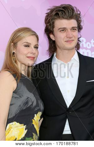 LOS ANGELES - JAN 28:  Cara Buono, Joe Keery at the Variety's Celebratory Brunch Event For Awards Nominees at  Cecconi's on January 28, 2017 in West Hollywood, CA
