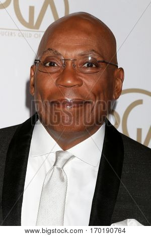 LOS ANGELES - JAN 28:  Paris Barclay at the 2017 Producers Guild Awards  at Beverly Hilton Hotel on January 28, 2017 in Beverly Hills, CA