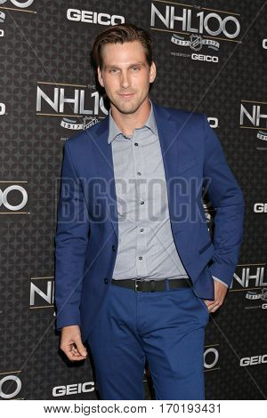LOS ANGELES - JAN 27:  Brad Benedict at the NHL 100 Gala at Microsoft Theater on January 27, 2017 in Los Angeles, CA