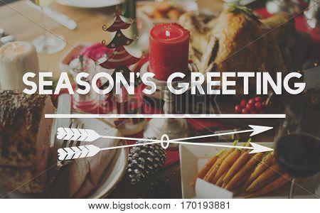 Bon Appetite Celebration Feast Happy Holiday