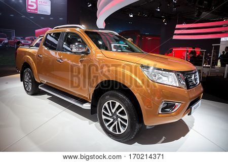 Nissan Navara Enguard Concept All-terrain Pick-up Truck