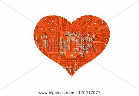 Heart From Microcircuit