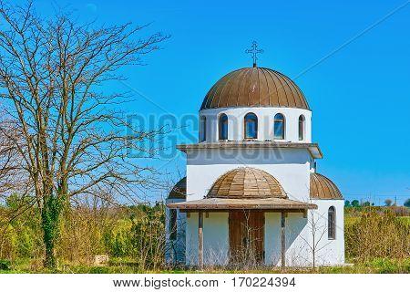 Abandoned Monastery Church