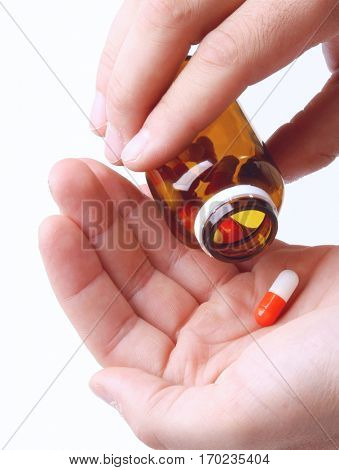 Pills in Hands