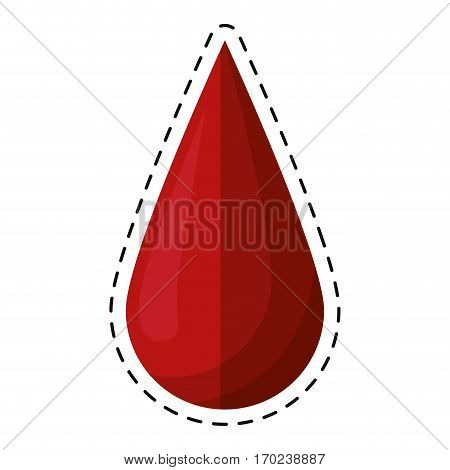cartoon blood drop donate donor vector illustration eps 10