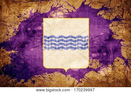 Vintage Basilicata flag with grunge effect