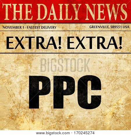 ppc, newspaper article text