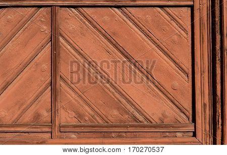 Detail Of Old Wooden Doors