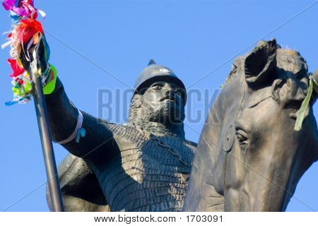 Monument To The Soldier Of Ancient Russia